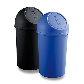 Obrázek produktu Plastový koš s víkem Helit - 45 l, výběr barev