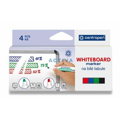 Obrázek produktu Centropen WB Marker 8569 - popisovač na tabule - 4 barvy