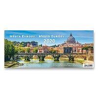 Stolní kalendář Města Evropy 2020