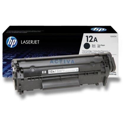 Obrázek produktu HP - toner Q2612A, black (černý) č. 12A pro laserové tiskárny