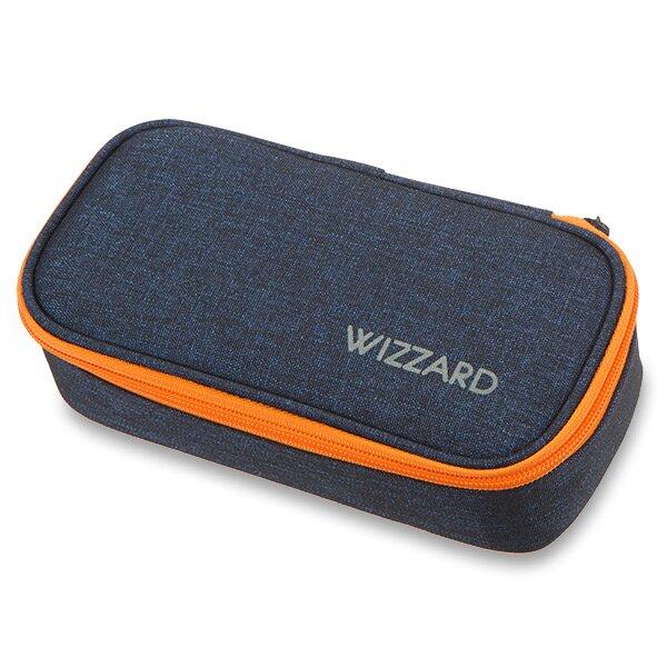 Penál Walker Wizzard Dark Blue Melange