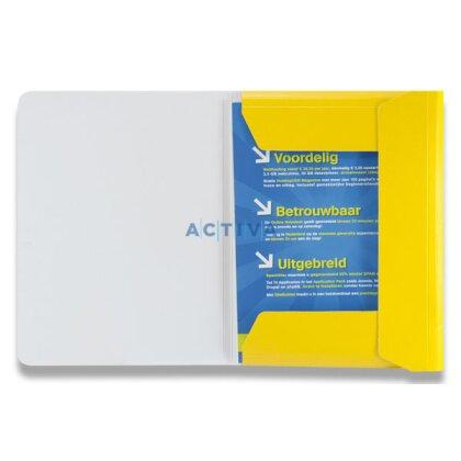 Obrázek produktu HIT Mapa 253 PP Plus - 3chlopňové spisové desky s gumičkou - A4, žluté