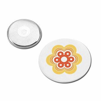 Obrázek produktu BUTTON III - kovový magnetický buton, 40 mm