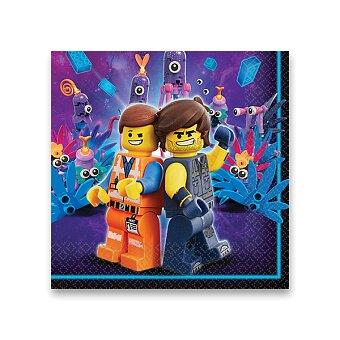 Obrázek produktu Papírové ubrousky Lego Movie 2 - 16 ks