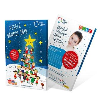 Adventní kalendář Dejme dětem šanci