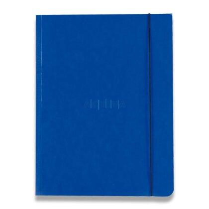 Obrázek produktu HIT Mapa 253 PP Plus - 3chlopňové spisové desky s gumičkou - A4, tm. modré