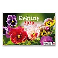 Stolní kalendář Květiny 2020