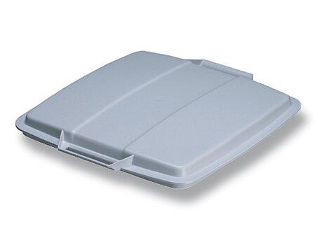 Obrázek produktu Víko pro velkoobjemový koš Durable hranatý - šedé