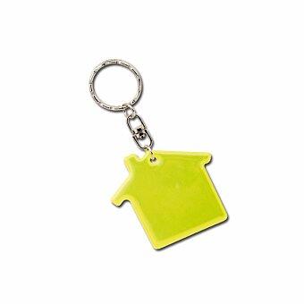 Obrázek produktu RESIDENCE - plastový přívěsek - reflexní, žlutá