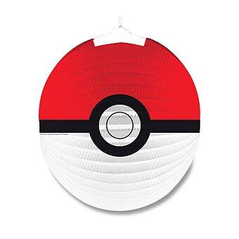 Obrázek produktu Papírový lampión Pokémon - průměr 25 cm