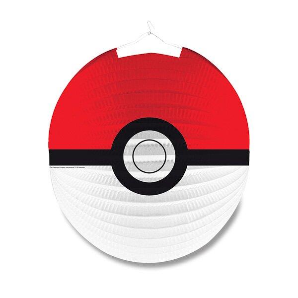 Papírový lampión Pokémon průměr 25 cm