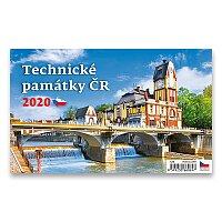 Stolní kalendář Technické památky 2020