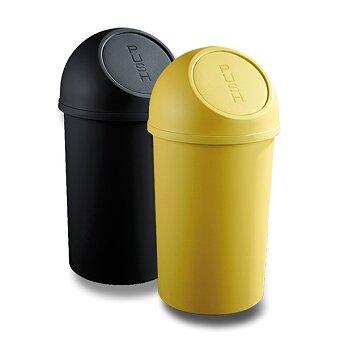 Obrázek produktu Plastový koš s víkem Helit - 13 l, výběr barev