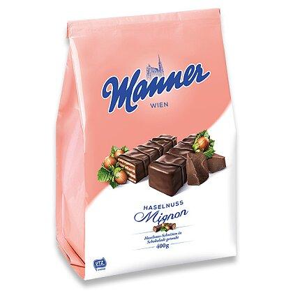 Obrázek produktu Manner - čokoládové oplatky s lískooříškovou náplní, 400 g