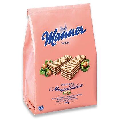 Obrázek produktu Manner - sušenky s lískooříškovou náplní, 400 g