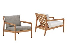 Křeslo Ethnicraft Jack Outdoor Lounge Chair