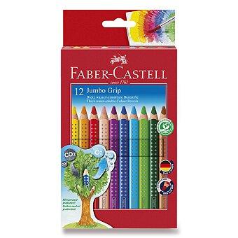 Obrázek produktu Pastelky Faber-Castell Colour Grip Jumbo - 12 barev