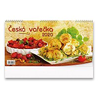 Stolní kalendář Česká vařečka 2020