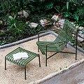 Křeslo Hay Palissade Lounge Chair s podnožkou