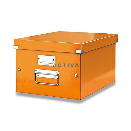 Obrázek produktu Leitz Wow - krabice A4 - oranžová