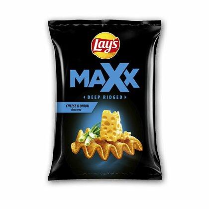 Obrázek produktu Lay´s Max - bramborové lupínky - sýr a cibulka, 65 g