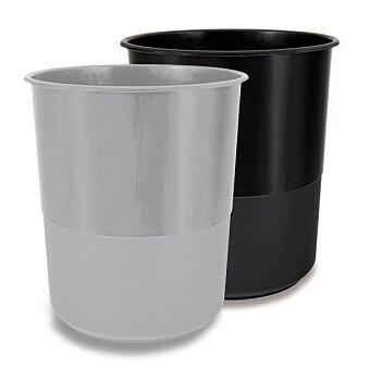 Obrázek produktu Plastový odpadkový koš Chemoplast - 15 l, výběr barev