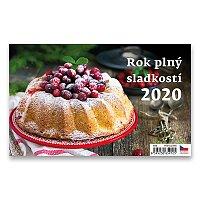 Stolní kalendář Rok plný sladkostí 2020