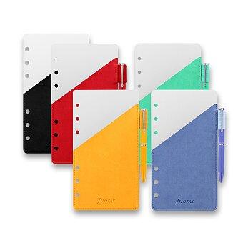 Obrázek produktu Přídavné poutko na pero + pero - náplň osobních diářů Filofax, výběr barev