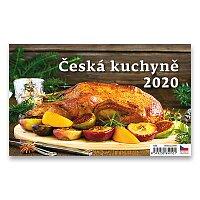 Stolní kalendář Česká kuchyně 2020
