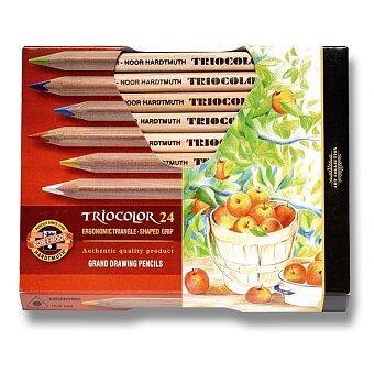 Obrázek produktu Pastelky Koh-i-noor Triocolor 3154 - 24 barev