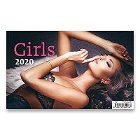 Stolní kalendář Girl 2020