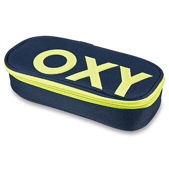 Obrázek produktu Penál OXY Sport Neon Line - Dark Blue