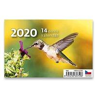 Stolní kalendář Mini čtrnáctidenní 2020