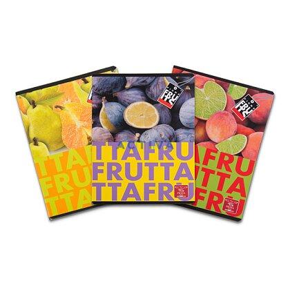 Obrázek produktu Pigna Fruits - školní sešit - A5, 40 l., linkovaný