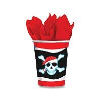 Papírové kelímky Pirate Party