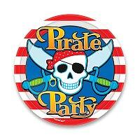 Papírové talířky Pirate Party