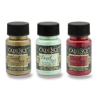 Obrázek produktu Textilní barva Cadence Dora Textile - výběr barev