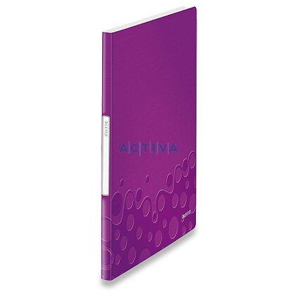 Obrázek produktu Leitz Wow - katalogová kniha - 40 kapes, fialová