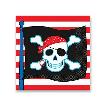 Obrázek produktu Papírové ubrousky Pirate Party - 16 ks
