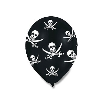 Obrázek produktu Nafukovací balónky Pirate Party - 6 ks