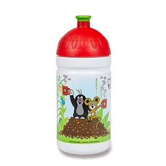Obrázek produktu Zdravá lahev 0,5 l - Krtek a jahody, červená, limitovaná edice
