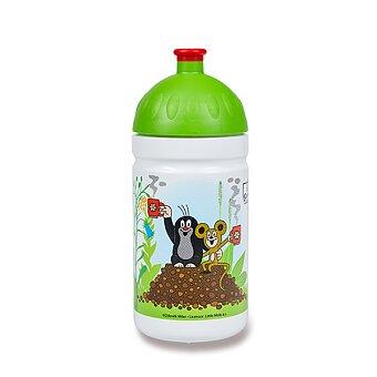 Obrázek produktu Zdravá lahev 0,5 l - limitovaná edice, Krtek a jahody, zelená