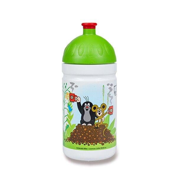Zdravá lahev 0,5 l Krtek a jahody, zelená, limitovaná edice