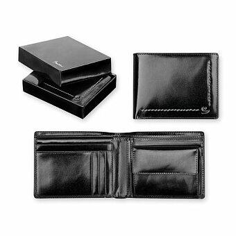 Obrázek produktu SANTINI ANGELO - kožená pánská peněženka, černá