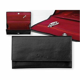 Obrázek produktu SANTINI ROSARIA - kožená dámská peněženka, černá