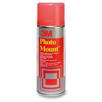 Obrázek produktu Lepidlo ve spreji 3M Photo Mount - pro grafické práce - 400 ml