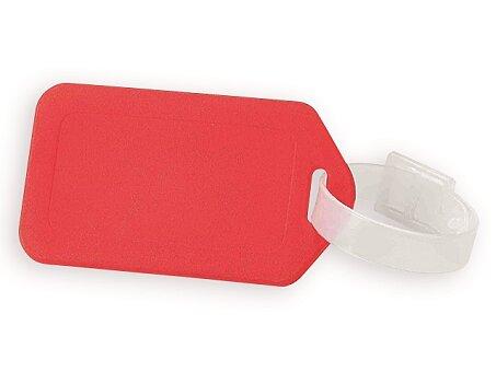 Obrázek produktu FOLKE - plastová jmenovka na zavazadlo, výběr barev