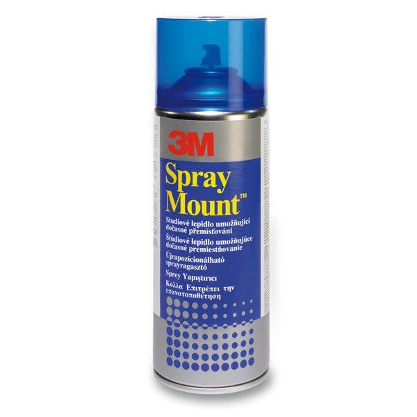 Lepidlo ve spreji 3M Spray Mount - univerzální 400 ml