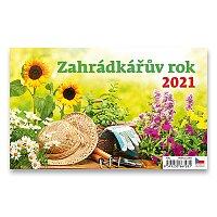 Stolní kalendář Zahrádkářův rok 2021