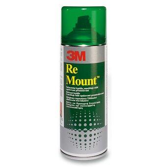 Obrázek produktu Lepidlo ve spreji 3M Re-Mount - snímatelné - 400 ml